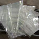 Пакеты с перфорацией для упаковки срезанных цветов